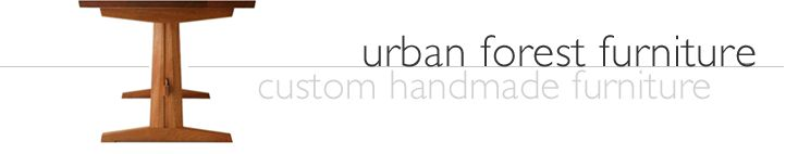urban forest furniture custom handmade fine furniture