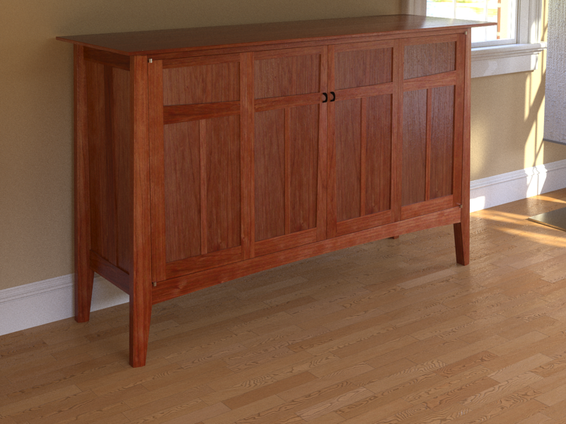 Wethersfield Media Cabinet By Urban Forest Furniture