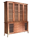 dining room china cabinet handmade custom furniture urban forest furniture