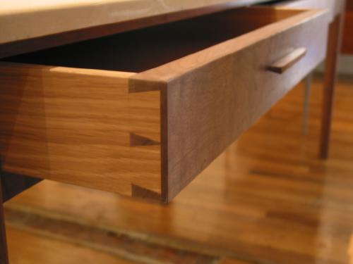 dovetail drawer detail